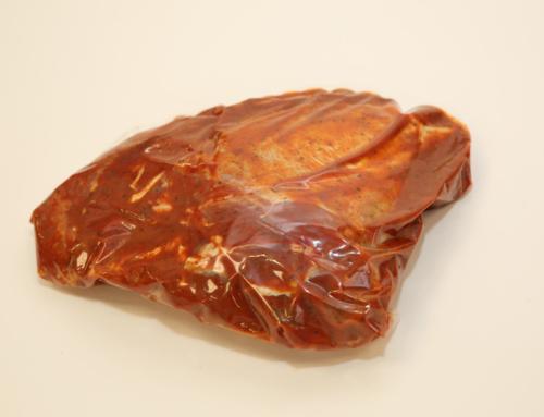 Мясо голени в маринаде